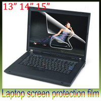 Wholesale Ultra clear quot quot quot laptop LCD screen protective film Glare screen film screen radiation computer