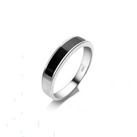 Women's agate design - New Arrival Luxury Black Agate Design Ring Genuine Silver Silver Ring Luxury Ring Gift for Girls and Ladies OR27