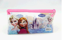 Wholesale Frozen Bag Ice and snow Hot princess frozen backpack Accessories olors Hangbags PVC pen pen bag bag manufacturers selling students