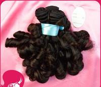 Wholesale New Arrival A brazilian aunty funmi virgin hair funmi sprial curl g pc natural color