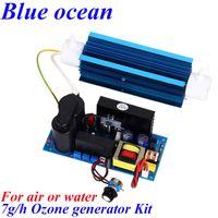 Wholesale BO QNAO AC220V AC110V DC12V DC24V g h adjustable Quartz tube type ozone generator Kit ozone water generator v v air purifier