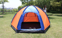 Wholesale 3 persons Outdoor Camping Equipment waterproof camping tent for couple casual tourism camping tent
