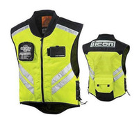 Wholesale Top Quality High Visibility Traffic Caution Night Riding Military Spec Vest Motorcycle Reflective Safety Vest
