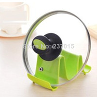 Wholesale Pot Pan Lid Stand Holder Kitchen Cooking Tool Spoon Utensil Rest Rack Storage