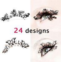 Wholesale 2013 hot paper cutting art Eye lashes designs false eyelash Christmas party accessory for pairs