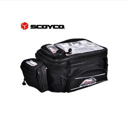 Hotsale 2014 Scoyco MB09 Motorcycle Tank Bag Sport Helmet Bags Racing Motobike Backpack Magnet Luggage Travel Accessories