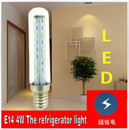 Wholesale 10pcs E14 W SMD LED Small Mini Lights Bulb Energy Saving For Hoods Smoke Exhauster Kitchen Ventilator Refrigerator