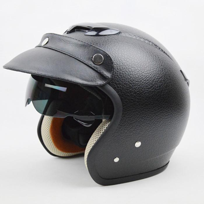 Best Motorcycle Helmet Best Helmets Cheap Casco Capacetes Half Face Motorcycle Helmet Retro