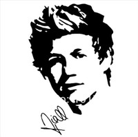 Wholesale 1d ONE DIRECTION poster NIALL HORAN Wall art Sticker Decal fashion teen room decor p2022
