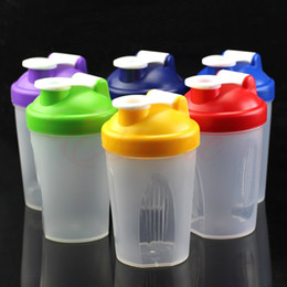 Wholesale OP Smart Shake Gym Protein Shaker Mixer Cup Blender Bottle Wit Stainless Whisk Ball