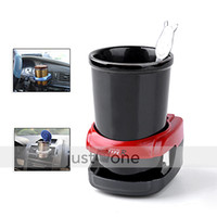 Wholesale OP Car Water Bottle Can Coffee Drink Cup Stand Holder red