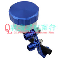 Wholesale Dirt Bike Blue Color Tank FLUID RESERVOIR Oil Cup with CNC Cap For Motorcycle Motobike BRAKE CLUTCH CYLINDER Lever