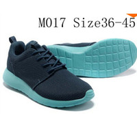 athletics upper - Running athletic Shoes Breathable Mesh Upper Roshe Run Shoes man and women shoes Size
