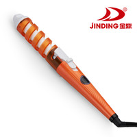 Wholesale Jinding JD B thermostat curlers curling iron does not hurt the hair spring electric hair stick Factory Outlet