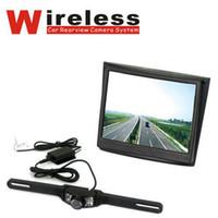 "Cheap Wholesale - Wireless Car Reverse 3.5"" LCD Monitor+Night vision Rearview Backup Camera Kit"