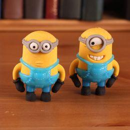 Wholesale Cute Despicable Me Minions Cartoon Pencil Rubber Eraser Best Gift For Children