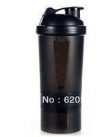 best shaker bottle - OP best seller Shaker bottle Black shaker cup protein powder muscle powder shaker fitness cqua