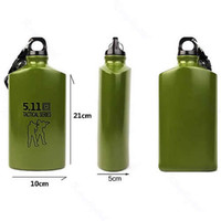 aluminium sports bottles - OP Aluminium Alloy Thermos Cup Water Sports Bottle With Compass ml