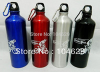 Wholesale OP Stainless Steel Camping Cycling Sport Water Bottle with carabiner L0334 T