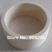Cheap Wholesale-OP-Top fashion unfinished wooden bangles wide wooden bracelet DIY wooden jewelry 15pcs SMT-122J