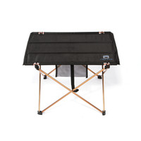 Wholesale High Quality Aluminium Alloy Ultra light Portable Folding Table Foldable Outdoor Camping Picnic Desk g H11599