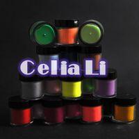 acrylic powder color - OP Color acrylic Jumbo size Powder Glitter Deco tips Polish Nail Art Sets