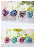 Wholesale NEW Fro en Finger Ring girl s Square Heart MIX SHIP Ring cm box pieces Box freeshipping