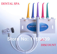 Cheap Wholesale-OP-Free shipping Dental water floss oral irrigator dental SPA unit teeth cleaner dental water jet home SPA portable oral irrigator