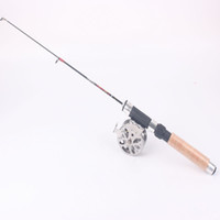 fly reel and rod - New Arrival Portable Mini Ice Fishing Rod Small Fish and Shrimps Fishing Pole With Fly Fishing Reel
