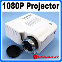 Wholesale Hot Selling Full HD P Home Theater Mini projector Support SD USB VGA DVD