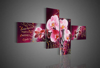 Cheap 4 panel oil painting Best Oil Painting Abstract wall decor