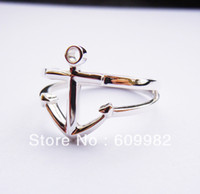 Wholesale Anchor Ring in Solid Sterling Silver All Sizes Engravable