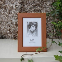 wood photo frame - New Creative Picture wood Frame Photo Frames Hang Wall for room Home Decor