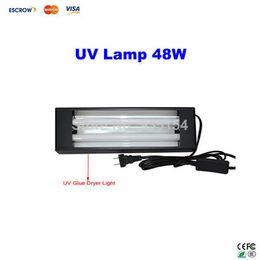 Wholesale Free ship W UV lamp For Mobile LCD Refurbishment UV glue dryer nail gel curing light