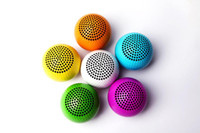 Wholesale COLORFUL Golf Protable Wireless Bluetooth Mini speaker Rechargeable lithium battery inside ZKT