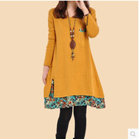 dresses for pregnant women long dress - Spring Summer clothes maternity dress pregnant women skirt long sleeved floral dress for pregnant women D0110