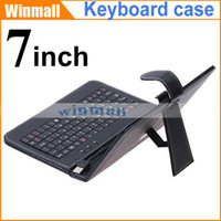 Cheap Cheapest 500pcs PU Leather Stand USB Keyboard Case For Q88 Q8 7 inch A13 A23 A33 A20 China Android Tablet PC