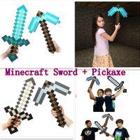 Wholesale DIAMOND Movies Minecraft Sword Minecraft PickaxeTo...
