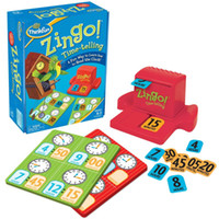 Cheap Zingo Time-Telling Board Game Benko chess Children Education English Intellect Card Game