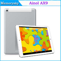 Wholesale Ainol AX9 quot tablet pc Quad Core MTK8382 Android4 Tablet PC With Bluetooth G G G D Games WIFI Dual Camera