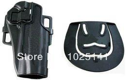 Wholesale Gros OP Blackhawk CQC Airsoft dur étui tactique plastique noir