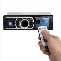 Wholesale LED LCD Display Car Audio Stereo With MP3 USB SD Card Radio AM FM AUX Input Receiver Remote Control
