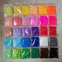 Wholesale 2 mm mini hama beads bags About bag multicolor available quality guarantee perler beads activity fuse beads magic fancy beads