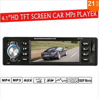 Cheap 4.1'' inch TFT HD screen car radio player,4016C,USB SD aux in 1080P movie radio with remote control,1 din car audio stereo mp5
