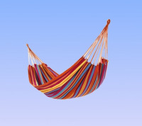 Cotten outdoor furniture yes Hot 190x80cm Outdoor camping canvas hammock leisure swings Camping cloth tent bed Picnic mat with free buggy bag+tying rope