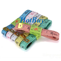 Wholesale New Sewing Body Measuring Tailor Diet Cloth Soft Ruler inch quot Tape cm