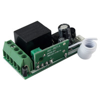 Wholesale 5 DC12V Single Channel RF Wireless Remote Control Receiver Relay Module Switch MHz Learning Code F4172A