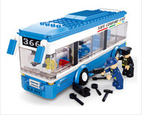 Wholesale High Quality M38 B0330 Buses Single deck Buses City Product Educational Toys Building Blocks H