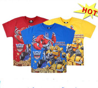 2014 2T- 10T hot movie transformers prime baby boys 100% cott...