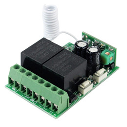 Wholesale 5pcs DC12V Channel RF Wireless Remote Control Receiver Relay Module Switch MHz Multi function Learning Code F4173A